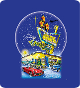 """60th Anniversary"" Blue Christmas T-Shirt"