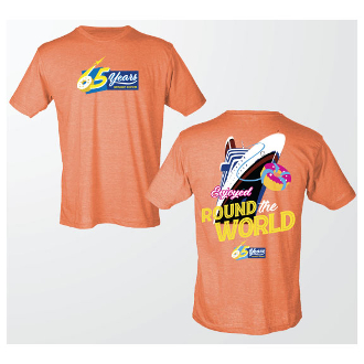 "65th Orange ""Ship"" T-Shirt"