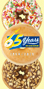 65th Anniversary Beach Towel