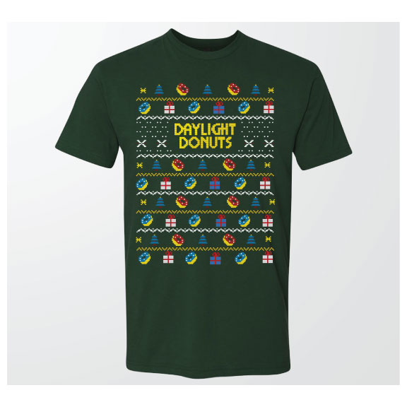 2018 Green Ugly Christmas Sweater T-Shirt